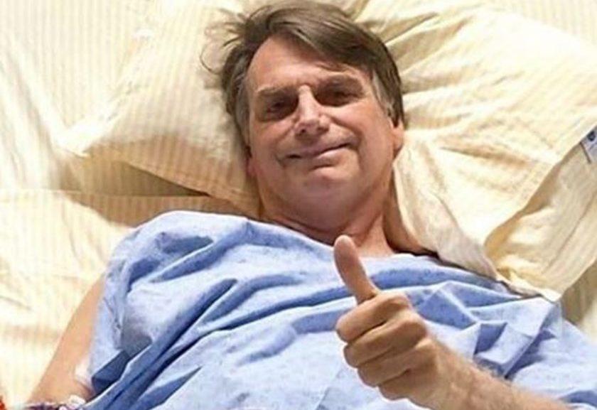 Bolsonaro 12 de setembro1 840x577 - Alimentação oral de Bolsonaro é suspensa devido à distensão abdominal