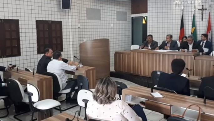 CM Cabedelo reunião comissão processante 1 683x388 - Impeachment de Leto Viana: Lucas Santino e Júnior Datele prestam depoimento hoje