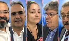 REJEIÇÃO: Zé Maranhão lidera com 28,2%, João tem 12,5% e Lucélio 12%