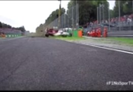IMAGENS FORTES: piloto sofre grave acidente em treino do GP de F-1 – VEJA O VÍDEO