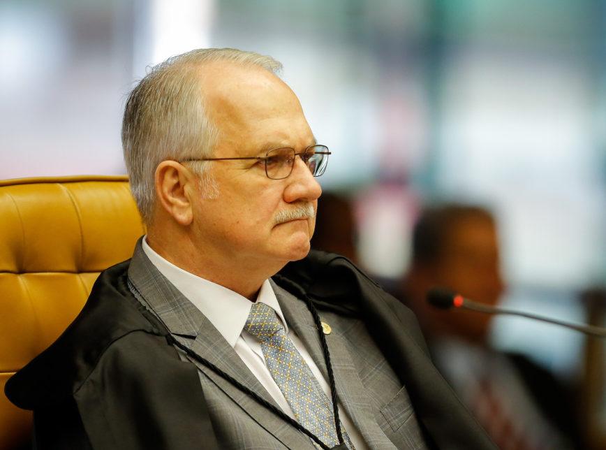 Fachin 868x644 - Edson Fachin nega suspensão de ações contra o ex-presidente Lula