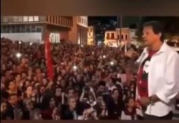 Haddad imita voz de Lula durante discurso e militantes vão ao delírio: 'ganha essa eleição para mim' – VEJA VÍDEO