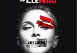 'ACABE O FASCISMO': Madonna também publica foto e adere à campanha #EleNão