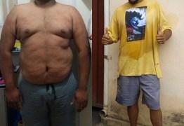 Fã de torresmo, ele pesava 190 kg e secou 60 kg em 4 meses ao mudar hábitos