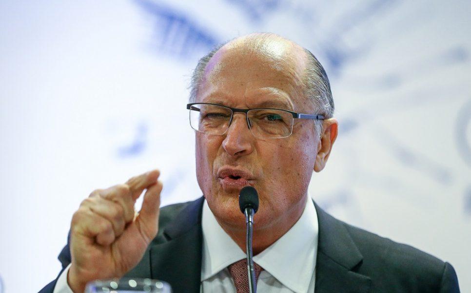 alckmin des - Alckmin reitera carta de FHC, mas nega acordo com adversários