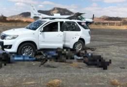 VEJA VÍDEO: Assalto a avião de transporte de valores termina com cinco mortos