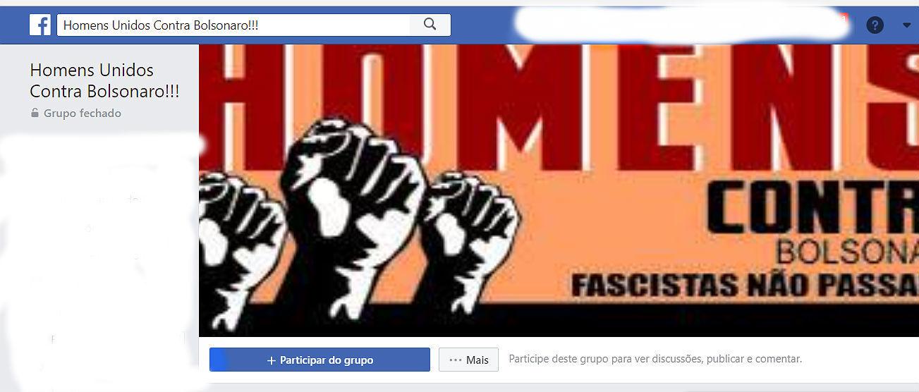 bolsonaro 2 - 'ELE NÃO': homens também se unem e criam grupo no Facebook contra Bolsonaro