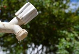 Falta água em treze localidades da Grande João Pessoa nesta sexta, saiba quais
