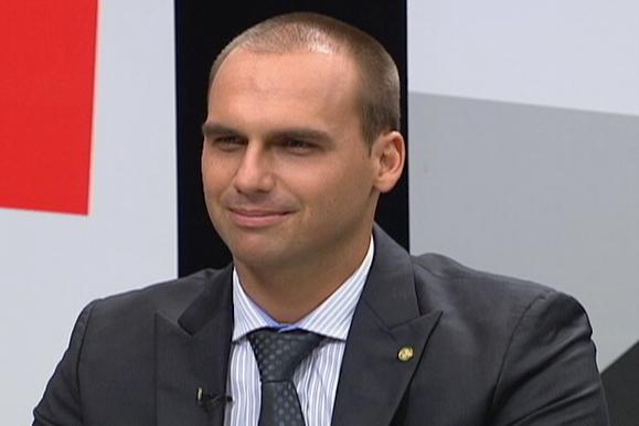 eduardo bolsonaro - Para Eduardo Bolsonaro, legalização das drogas beneficia PT