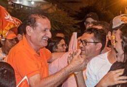 Hervázio comemora recepção calorosa em Princesa Isabel e agradece ao prefeito Ricardo Pereira
