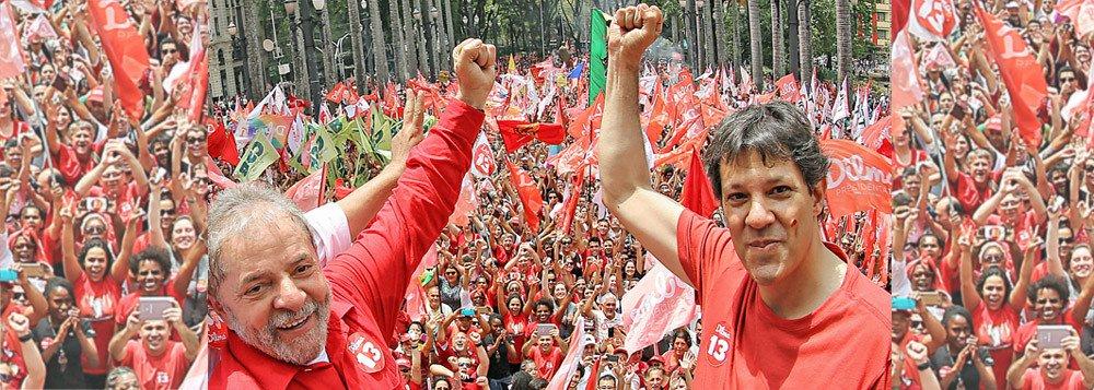 images cms image 000604891 - PESQUISA VOX POPULI: Haddad assume liderança na corrida presidencial