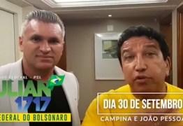 Senador Magno Malta visita a Paraíba para participar de eventos Pró-Bolsonaro – VEJA VÍDEO