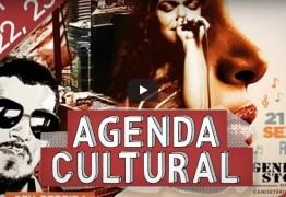 AGENDA CULTURAL – Diversos eventos animam o fim de semana na capital; vem conferir