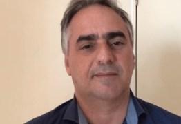 'Lucélio vem melhorando dia a dia', diz Cartaxo sobre o estado de saúde do irmão