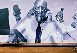 SEM CONSTRANGIMENTO: A novidade do 'robô entrevistador' parece ter dado certo nas pesquisas feitas na Paraíba