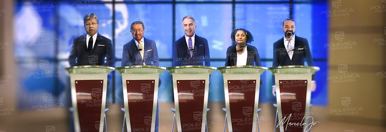 montagem226 - TV Borborema promove debate com os candidatos ao Governo da PB - VEJA VÍDEO!
