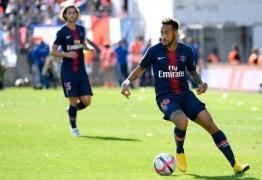 Neymar é poupado e fica fora de jogo desta sexta-feira do PSG no Francês