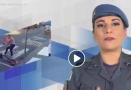 VEJA VÍDEO: Candidata usa imagens em que mata ladrão para fazer campanha eleitoral