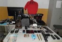 Polícia Militar rastreia celular roubado e prende suspeito de praticar vários assaltos na Paraíba