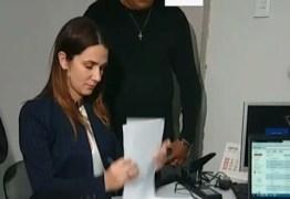 VEJA VÍDEO: Michele Ramalho registra chapa para eleição da Federação Paraibana de  Futebol