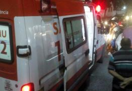 PM fica ferido após se envolver em acidente durante perseguição policial em João Pessoa