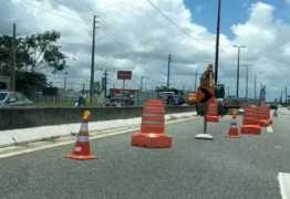 Tráfego na BR-230, em frente ao Iesp será alterado nesta quinta-feira
