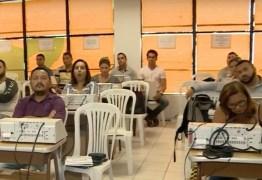 TRE-PB realiza treinamento com mesários que vão trabalhar nas eleições 2018