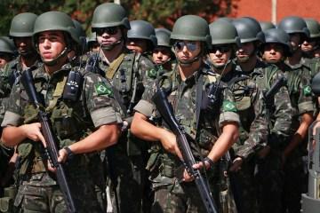 tropas federais - ELEIÇÕES: Rio Grande do Norte terá Forças Armadas em 67% dos municípios