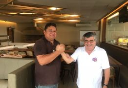 Wallber Virgolino anuncia apoio ao candidato ao Senado, Roberto Paulino