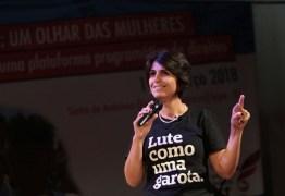 Em JP, ex-candidata a vice-presidente Manuela D'Ávila lança livro e participa de debate
