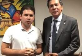 Ricardo Barbosa e Hugo Motta firmam parceria de trabalho para mais um mandato