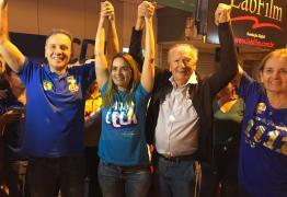 Aguinaldo comemora reeleição e a vitória expressiva de Daniella Ribeiro para o Senado e dos aliados Galego Souza e Paula Frassinetti para ALPB