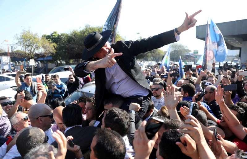 BBOaNUp - Bolsonaro lamenta agressões, mas diz não controlar apoiadores