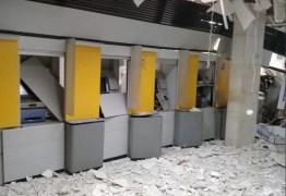 VEJA VÍDEO: quadrilha explode agência bancária no Sertão paraibano