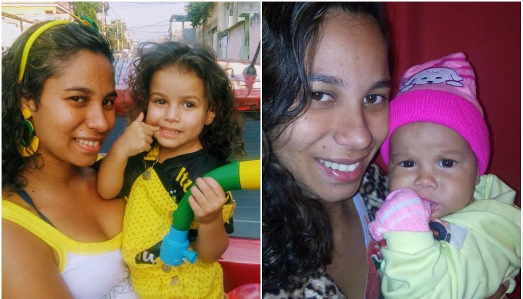 TRAGÉDIA: Jovem de 25 anos é morta a facadas na frente das filhas durante assalto