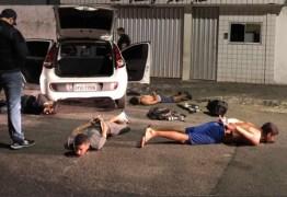 Policia civil da Paraíba prende quadrilha acusada de arrombamento a bancos no país
