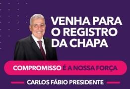 ELEIÇÕES OAB PB: Carlos Fábio faz registro de candidatura no próximo dia 29