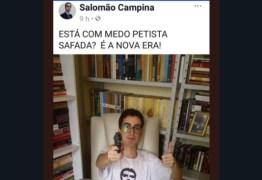 Apoiador de Bolsonaro posta foto com arma, é flagrado em aplicativo gay e pede desculpas em vídeo