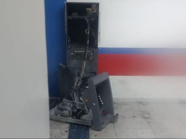 Capturar 52 - VEJA VÍDEO: quadrilha explode ponto de atendimento bancário de Pirpirituba