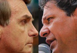 PESQUISA BTG/PACTUAL: A 6 dias da eleição, Bolsonaro lidera em 18 Estados; Haddad, em 8
