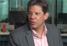 Fernando Haddad participa de sabatina com O Globo, Extra, Época e Valor Econômico: ASSISTA AO VIVO