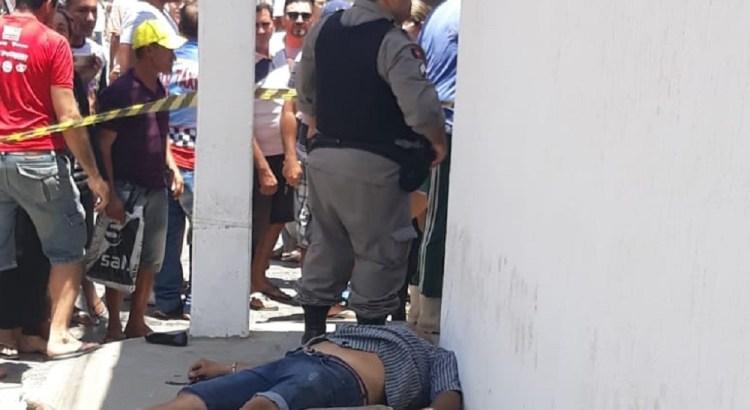 Pombal dois mortos apos assalto   - VEJA VÍDEO: após tentativa de assalto no Sertão, polícia mata um e comparsa comete suicídio