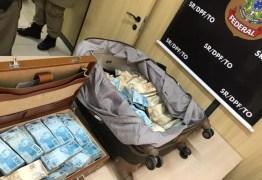 COMPRA DE VOTOS? Polícia encontra mais de R$ 1 milhão em malas dentro de táxi