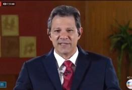 Jornal Nacional entrevista o presidenciável Fernando Haddad – VEJA VÍDEO!