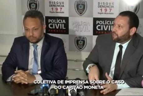 Untitledpo - Polícia conclui que arma que matou capitão Moneta é do diretor da Acadepol - VEJA VÍDEO