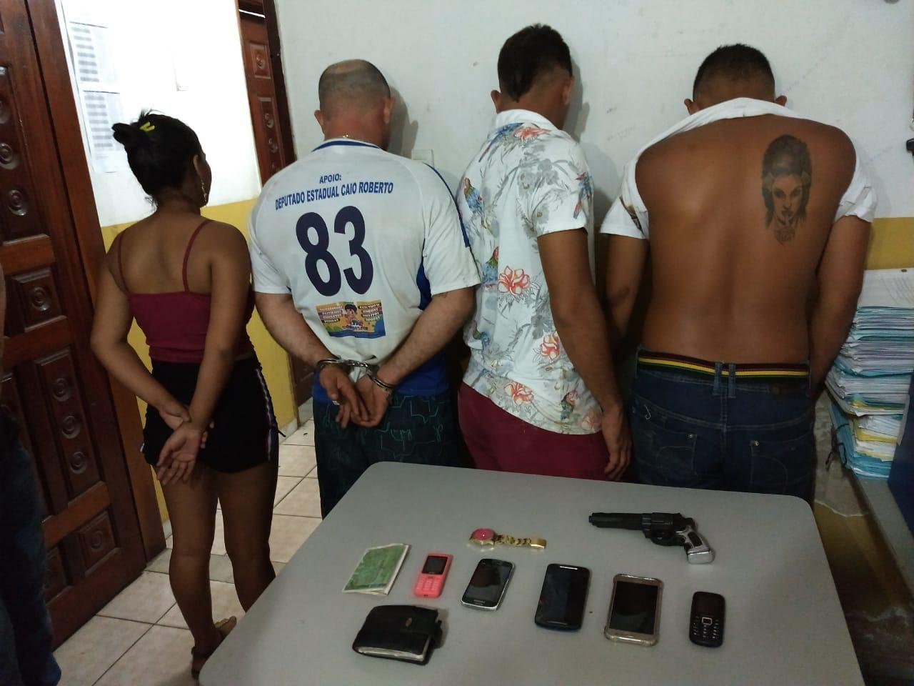 Polícia prende acusados de assalto à pousada na Paraíba