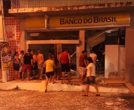 age - VEJA VÍDEO: quadrilha explode duas agências bancárias no sertão da Paraíba - VEJA VÍDEO