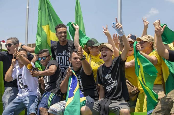 ato Bolsonaro - 'Bolsonaro poderá ser eleito presidente nos próximos dias' - PorRicardo Noblat
