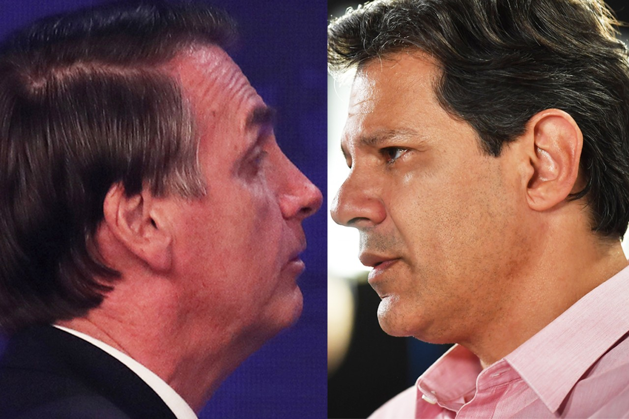 brasil eleicoes politica jair bolsonaro fernando haddad3 - PESQUISA IBOPE NA CIDADE DE SP: Haddad ultrapassa Bolsonaro e vai a 51%