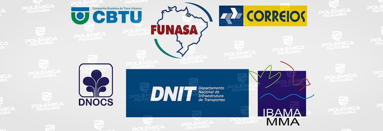 cargos governo federal - CARGOS FEDERAIS NA PARAÍBA: saiba como a eleição de Bolsonaro poderá afetar as indicações políticas no Estado